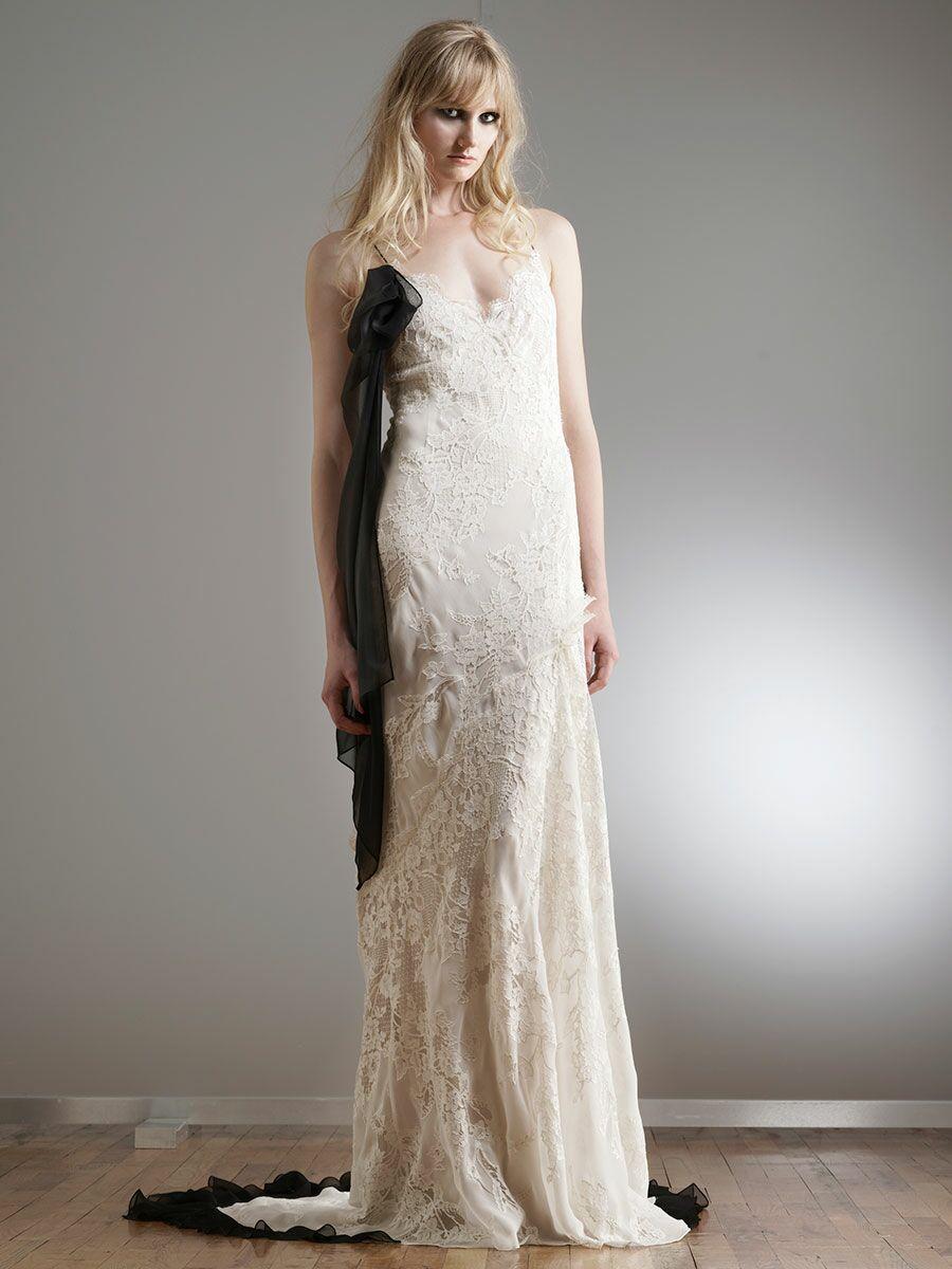 4402ce12 Elizabeth Fillmore Spring 2018 Collection: Bridal Fashion Week Photos