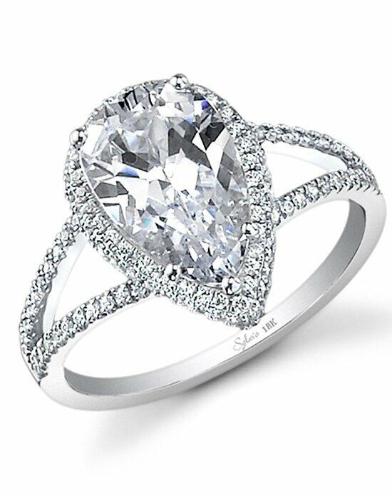 Sylvie Collection SY289 Engagement Ring photo