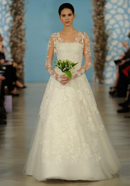 Oscar de la Renta Bridal 2014 Look 2 Wedding Dress photo