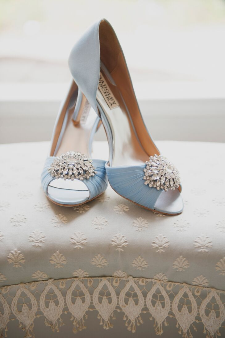 Light Blue Badgley Mischka Shoes