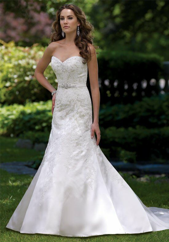 David Tutera for Mon Cheri 113218 Zetta Wedding Dress photo
