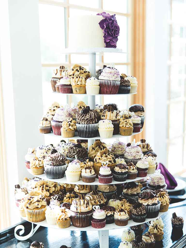 how much are cupcake wedding cakes 16 wedding cake ideas with cupcakes 15419