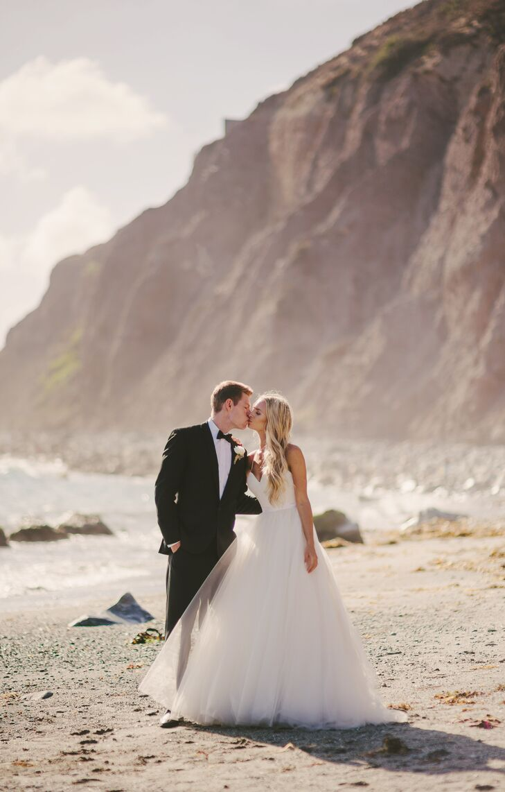 A Romantic Beach Themed Wedding At Cannons In Dana Point California