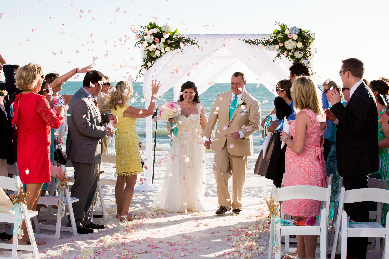 An Intimate Beach Wedding At The Ritz-Carlton, Naples In