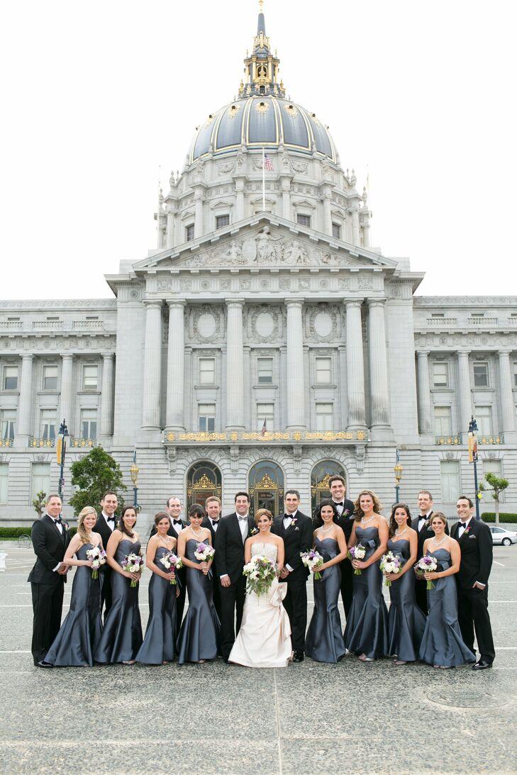 An Elegant Wedding at San Francisco City Hall in San Francisco ...
