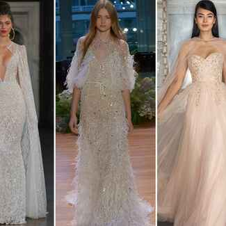 Fall 2017 Bridal Fashion Week wedding dress trends