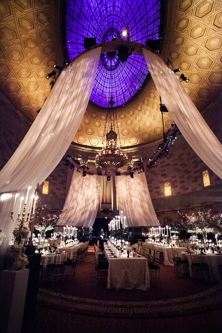 A Glamorous Winter Wedding With Art Deco Touches At Gotham