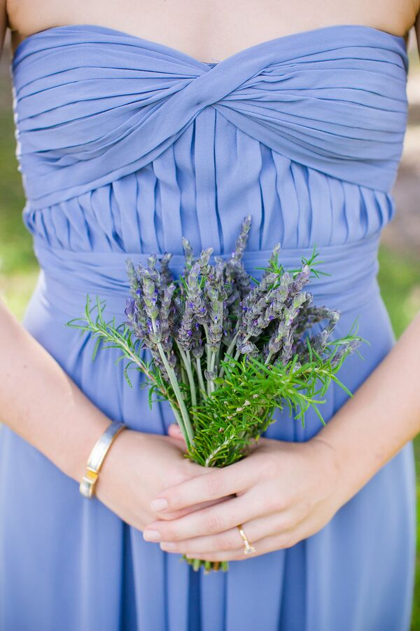 Lavender Wedding Bouquets