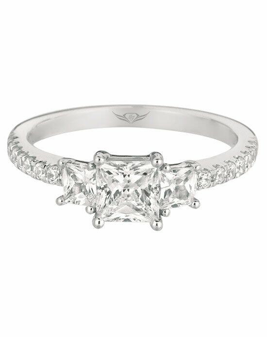 FlyerFit by Martin Flyer VT05Q-C-5.0PC Engagement Ring photo
