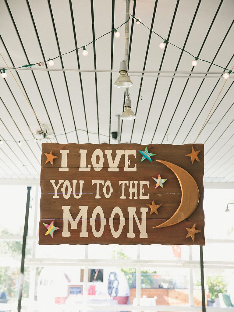 Love Quote Signs Extraordinary 12 Cute Signs For Your Rustic Wedding