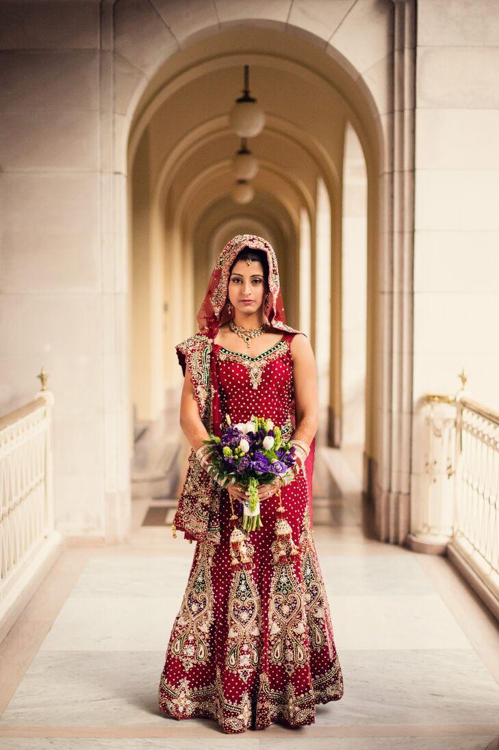 Traditional Punjabi Bridal Dress