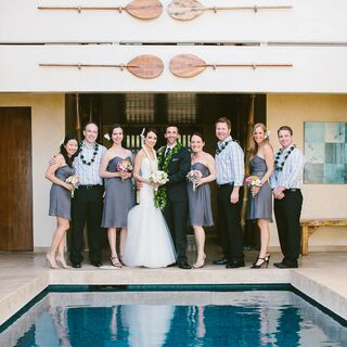 A Beachfront Destination Wedding in Honolulu