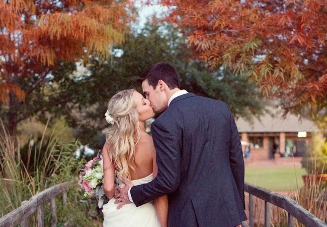 This Outdoor Wedding In Texas Had The Perfect Color