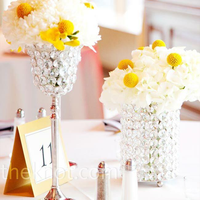 Jeweled Vase Centerpieces