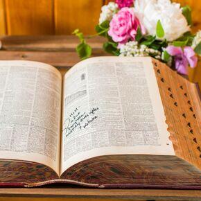 Alternative Wedding Guest Books