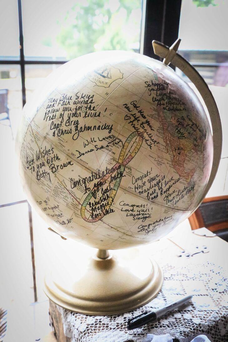 Globe Guestbook globe guestbook