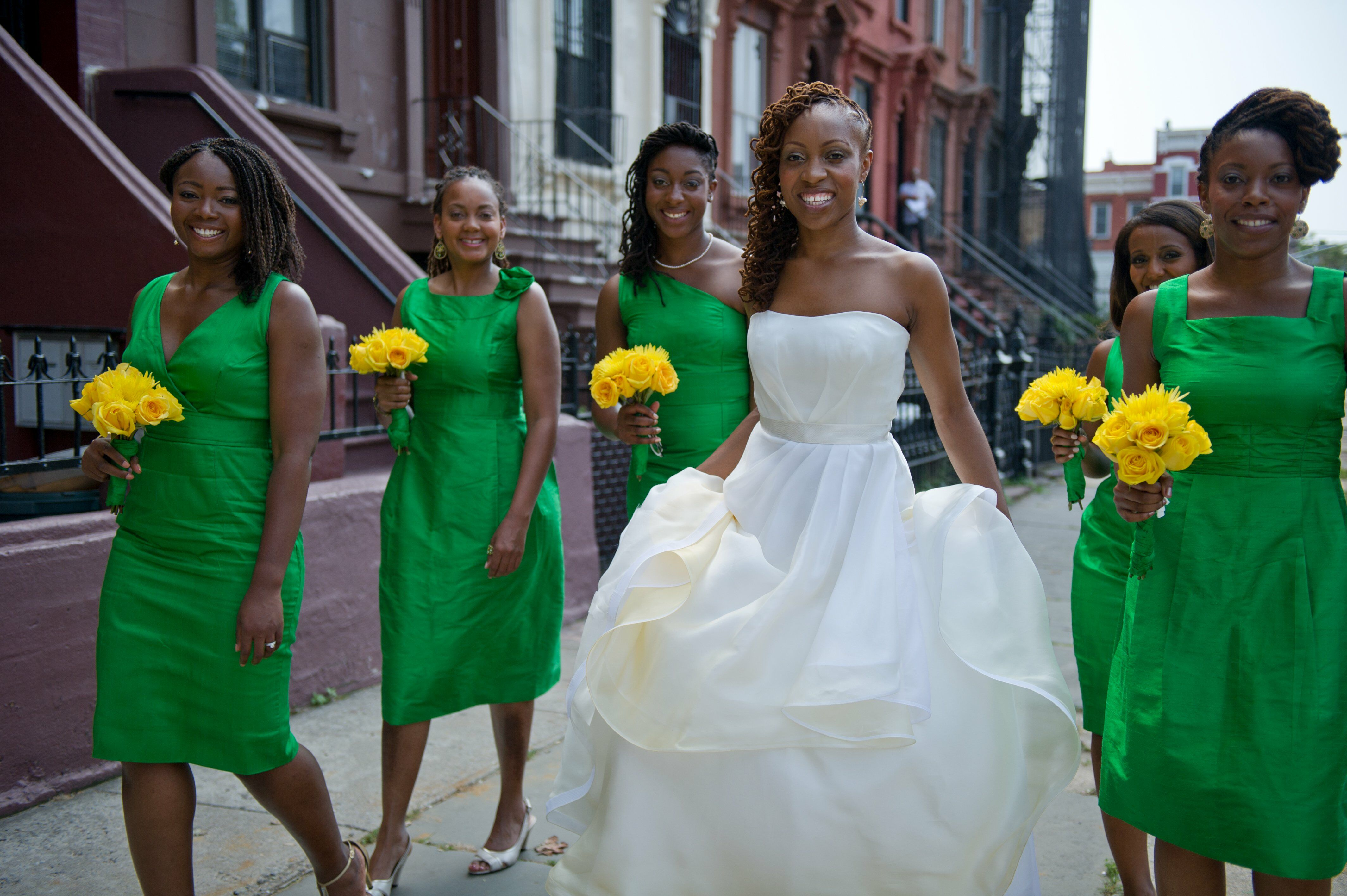 American Wedding Bridesmaids