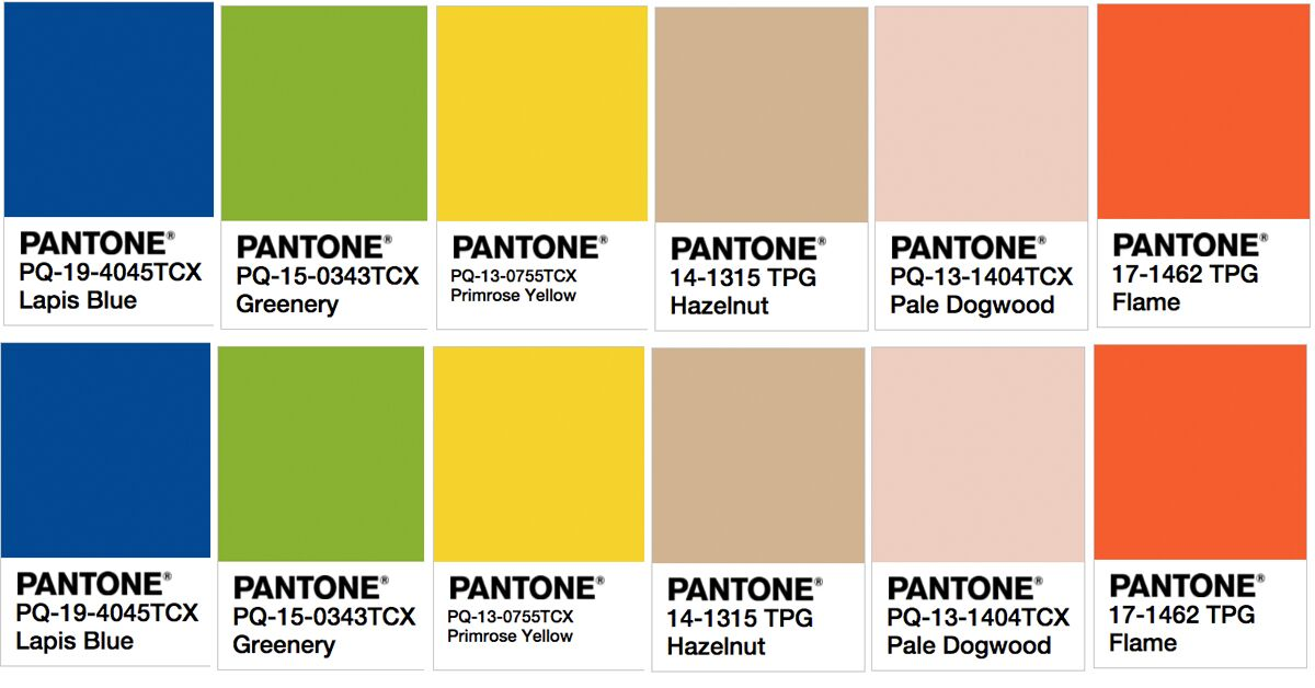 pantone 39 s hottest color trends for spring 2017. Black Bedroom Furniture Sets. Home Design Ideas