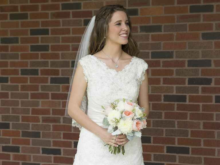 Jill Duggar Wedding Dress