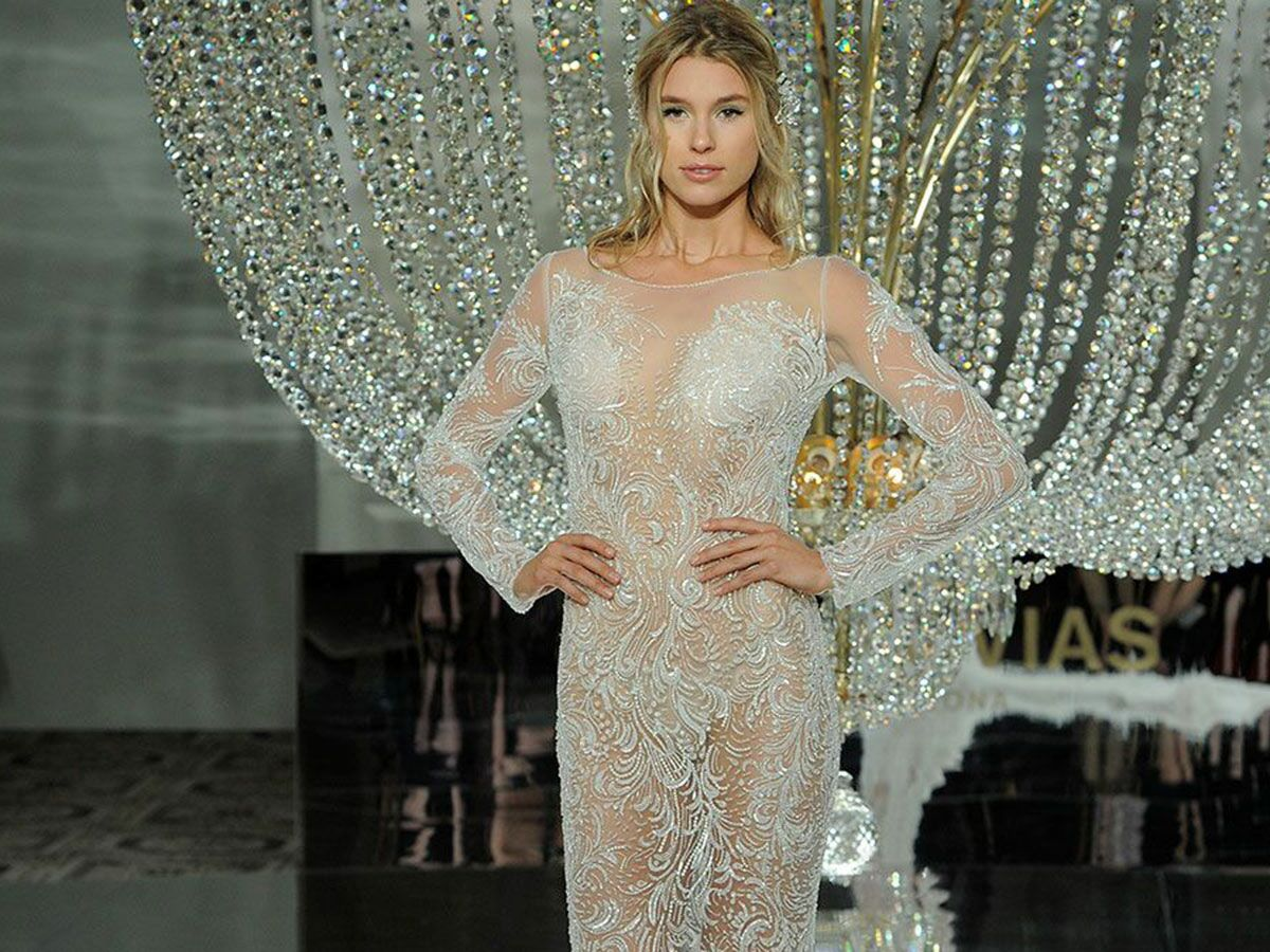 Sexy Wedding Dresses That Rocked The Runways (Watch