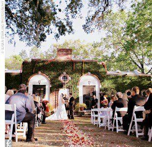 The ceremony for Wedding dresses thomasville ga