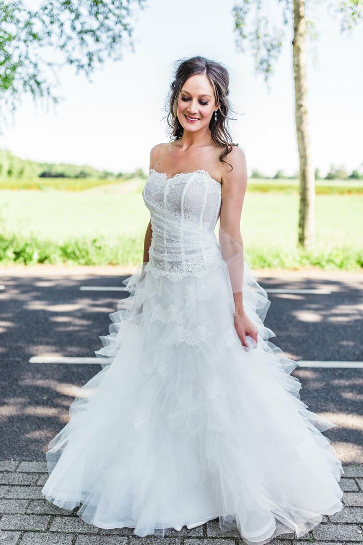 Modern Ball Gown Wedding Dress