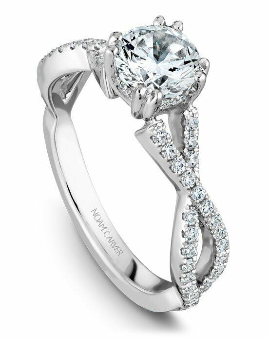Noam Carver B004-03WS-100A Engagement Ring photo