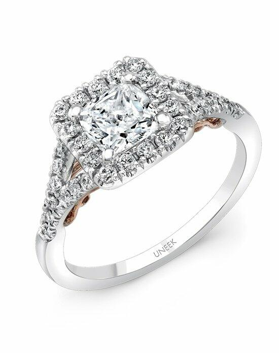 Uneek Fine Jewelry A104CUWR-5.5CU Engagement Ring photo