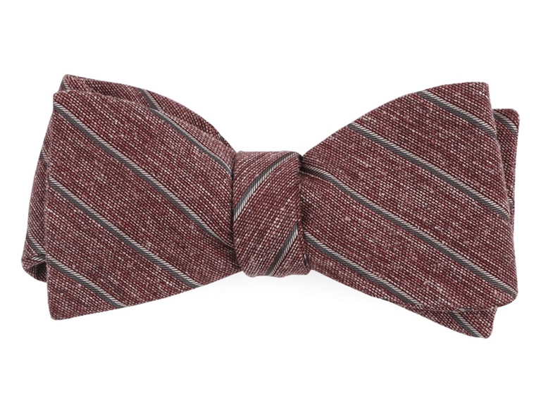 striped bow tie anniversary gift