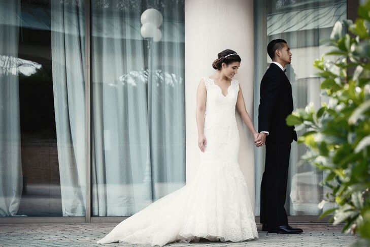 A White and Navy Wedding at the Westin Tampa Harbour Island in Tampa ...