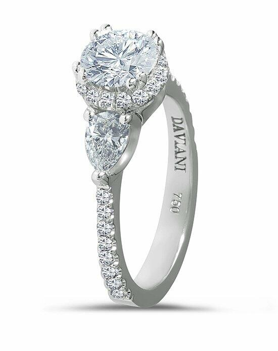 Daviani Love Links Collection DCR1055 Engagement Ring photo