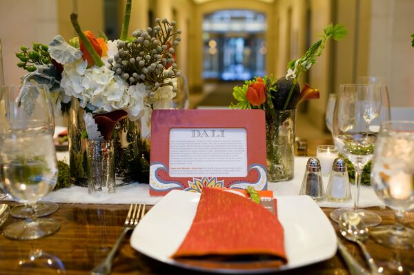 Modern Reception Place Setting
