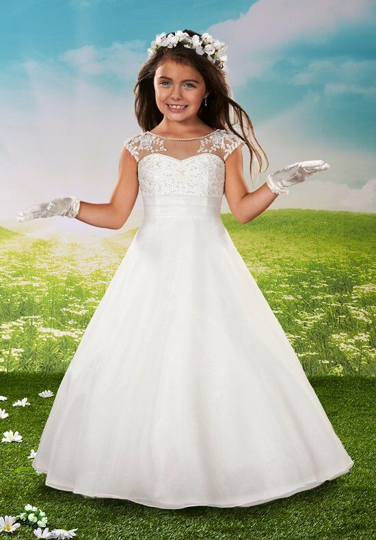 Cupids by Mary's F432 Flower Girl Dress photo
