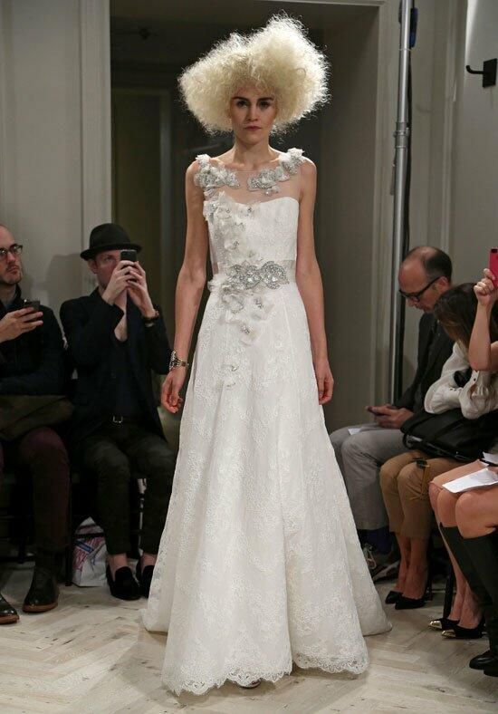 Badgley Mischka Bride Lucille Wedding Dress photo