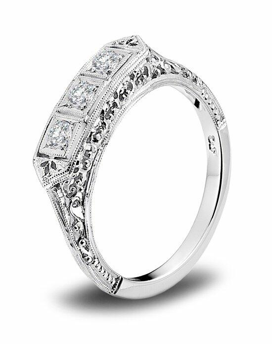 Platinum Engagement and Wedding Ring Must-Haves Whitehouse Brothers Platinum and Diamond Wedding Band Wedding Ring photo