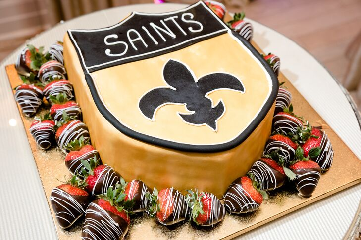 New Orleans Saints Groom Cake