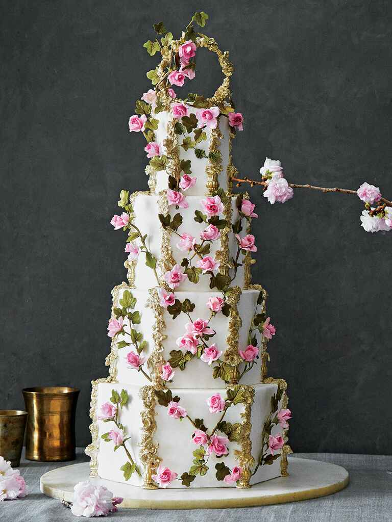 the 25 prettiest wedding cakes we 39 ve ever seen. Black Bedroom Furniture Sets. Home Design Ideas