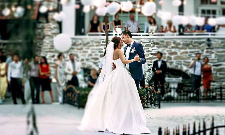 Bride and groom first dance wedding songs