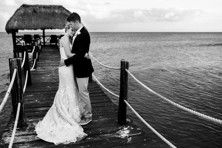 A Beach Destination Wedding At Azul Sensatori Hotel In Riviera Maya Mexico