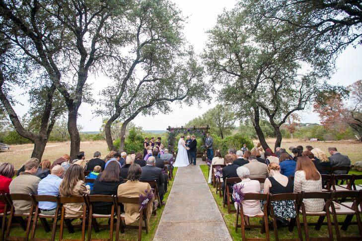 A Rustic Winter Themed Wedding At Vista West Ranch In