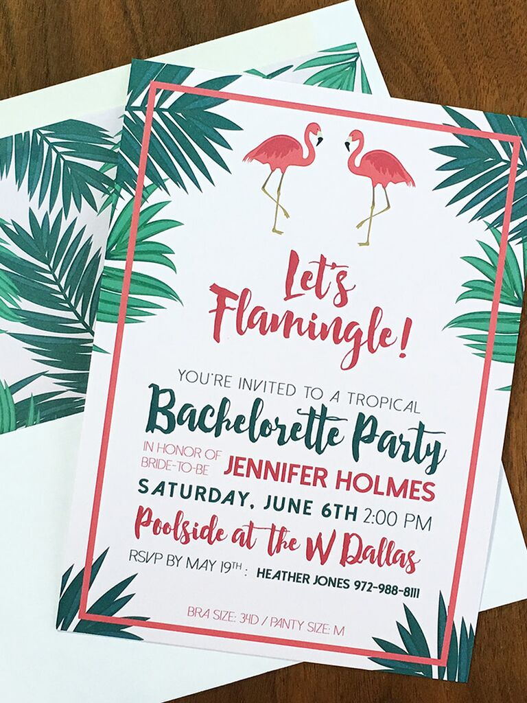 14 Printable Bachelorette Party Invitation Templates – You Are Invited Template