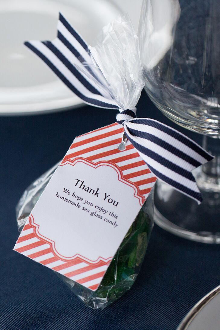 Sea Glass Candy Wedding Favors