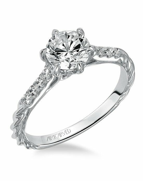 ArtCarved 31-V466ERW Engagement Ring photo