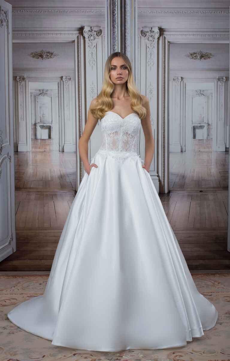 See every new pnina tornai wedding dress from the love for Wedding dress shop new york