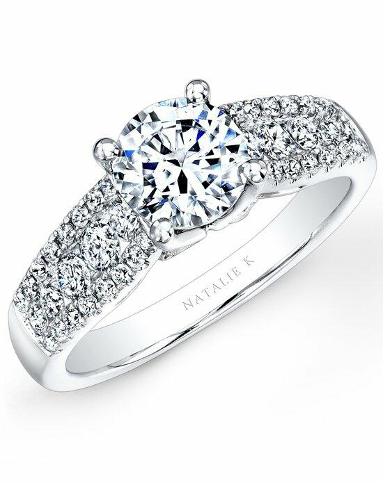 Natalie K Classique Collection - NK23626-W Engagement Ring photo