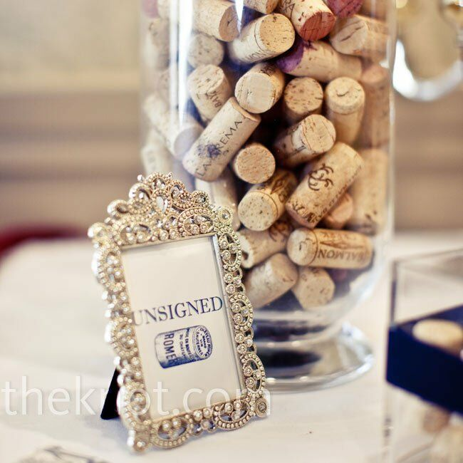 Wine Cork Wedding: Wine Cork Guest Book