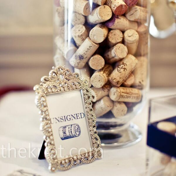 Real Weddings Cork: Wine-Type Table Names