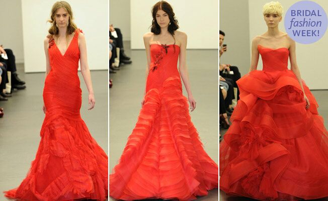Vera Wang Wedding Dressees Fall 2012