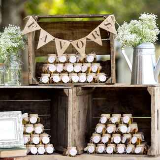 Do it yourself wedding favors
