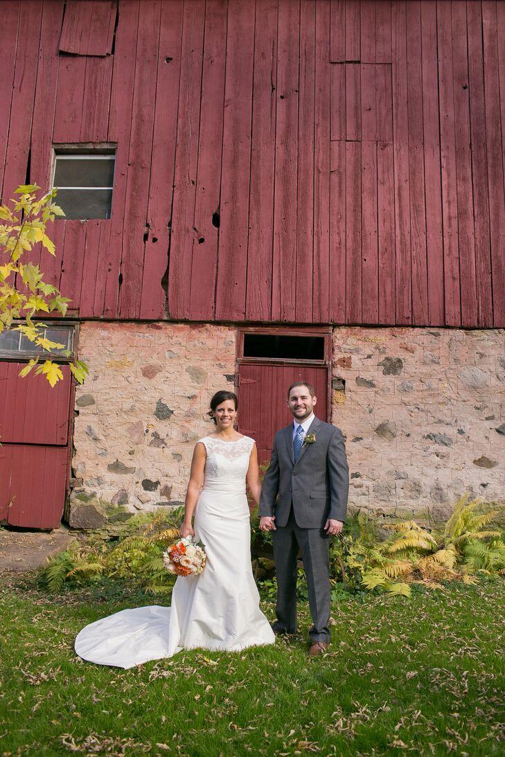 A Rustic Fall Wedding At Camrose Hill Flower Farm In Stillwater Minnesota